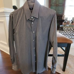 Hugo Boss mens dress shirt, 16, 34/35 regular